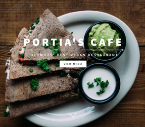 healthy restaurants in columbus   new year's resolutions   portia's cafe clintonville